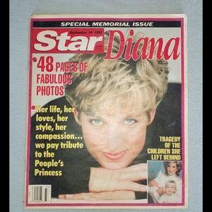 Star and globe vintage diana magazine